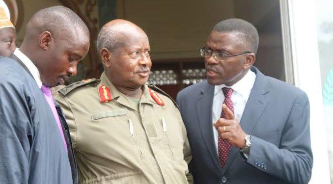 President Yoweri Museveni and Katikkiro Charles Peter Mayiga