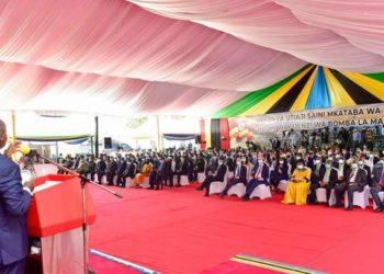 Museveni in Tanzania