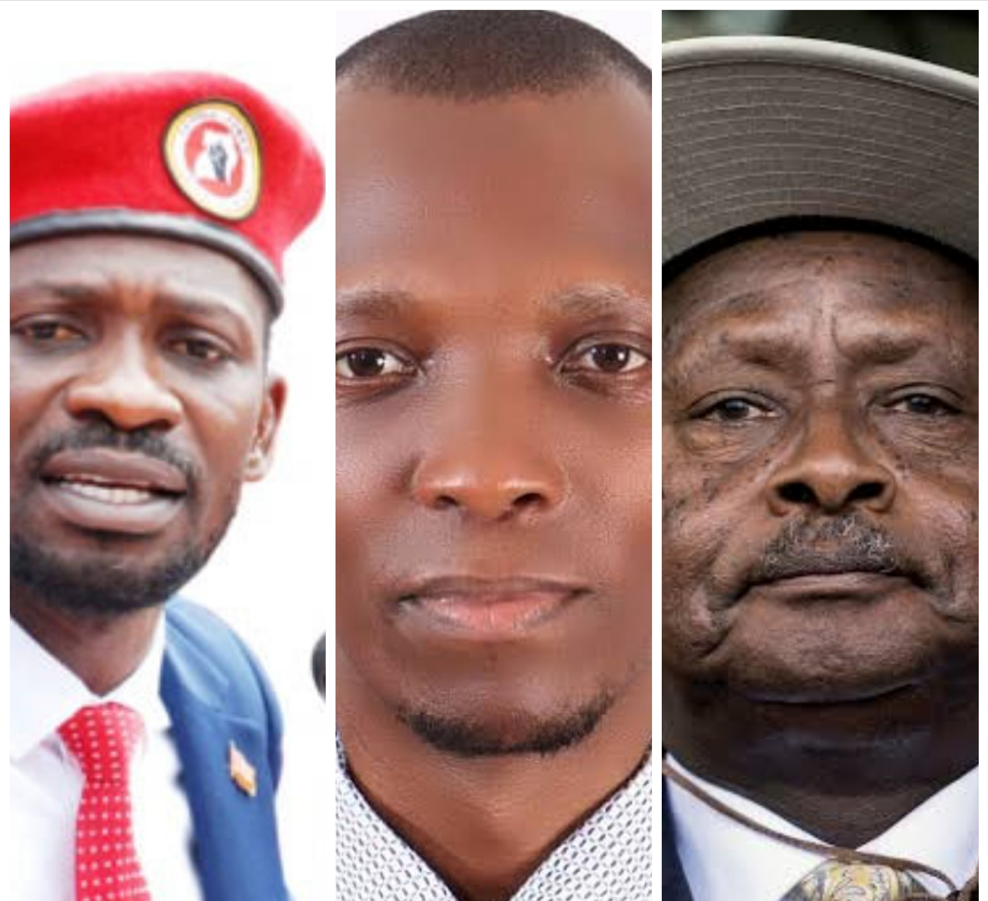 Bobi Wine, Muwada Nkunyingi and President Museveni