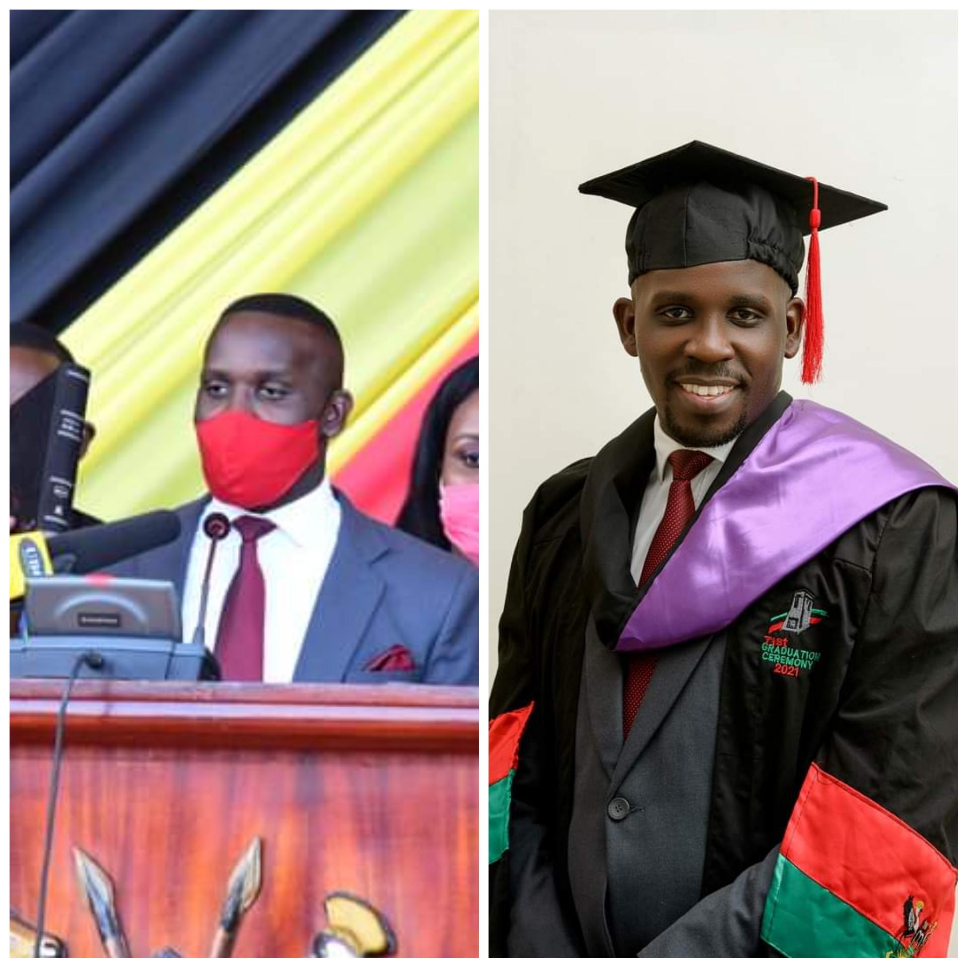 Nakawa West MP Joel Ssenyonyi