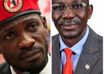Bobi Wine and Bakaluba Mukasa