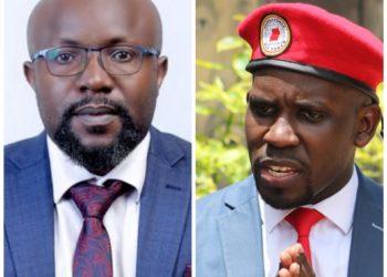 Don Wanyama and Joel Ssenyonyi