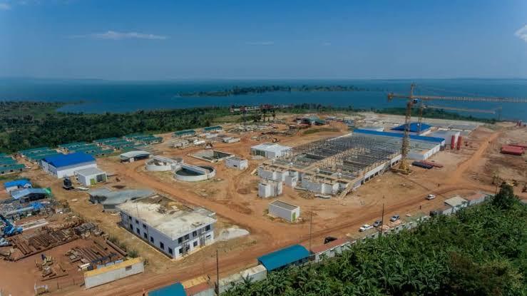 Katosi water treatment plant