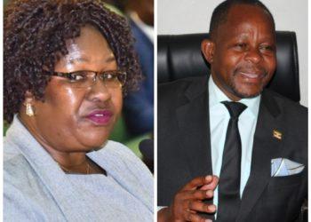 Florence Namayanja and Godfrey Kayemba