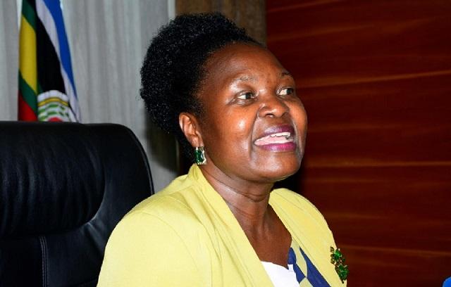 Abadde Nampala wa Gavumenti Ruth Nankabirwa