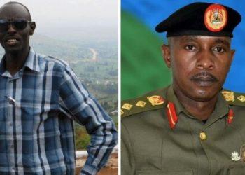 Lt Col Ronald Kakurungu and Col Deo Akiiki