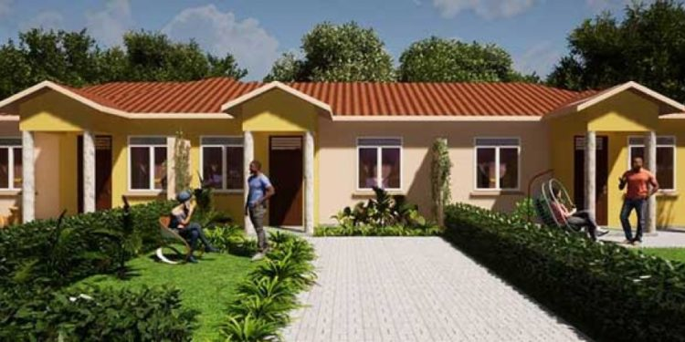 Artistic impression of of the units in Mirembe Villas, Sentema