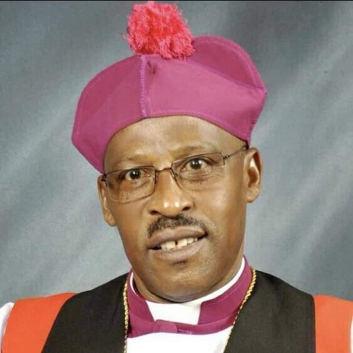 The late Bishop Benon Magezi