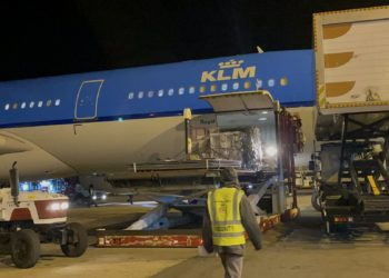 Third consignment of Covid-19 doses arrives at Entebbe Airport on Wednesday