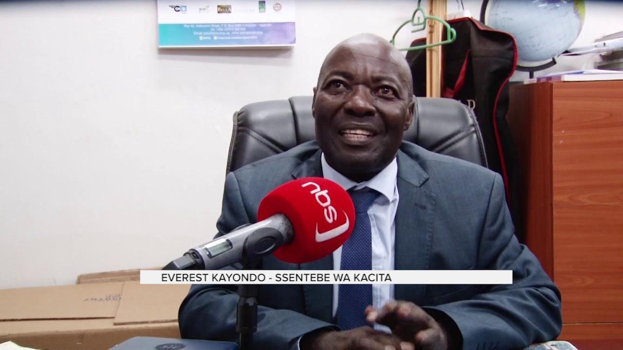 Evaresto Kayondo abadde akulira abasuubuzi mu Kampala