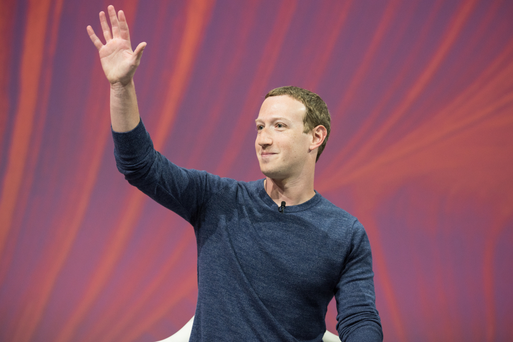 Facebook founder Mark Zuckerberg tops list of millenial billionaires who have made it in tech. PHOTO CREDIT: Frederic Legrand – COMEO / Shutterstock