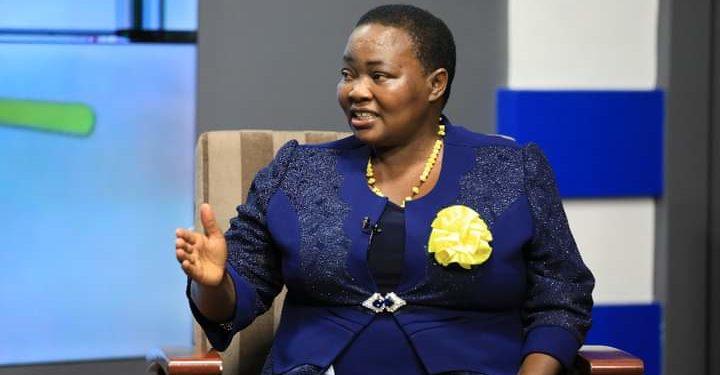 Prime Minister Robinah Nabbanja