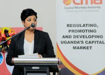 Ms Rashmi Pillai, the Executive Director of FSD Uganda