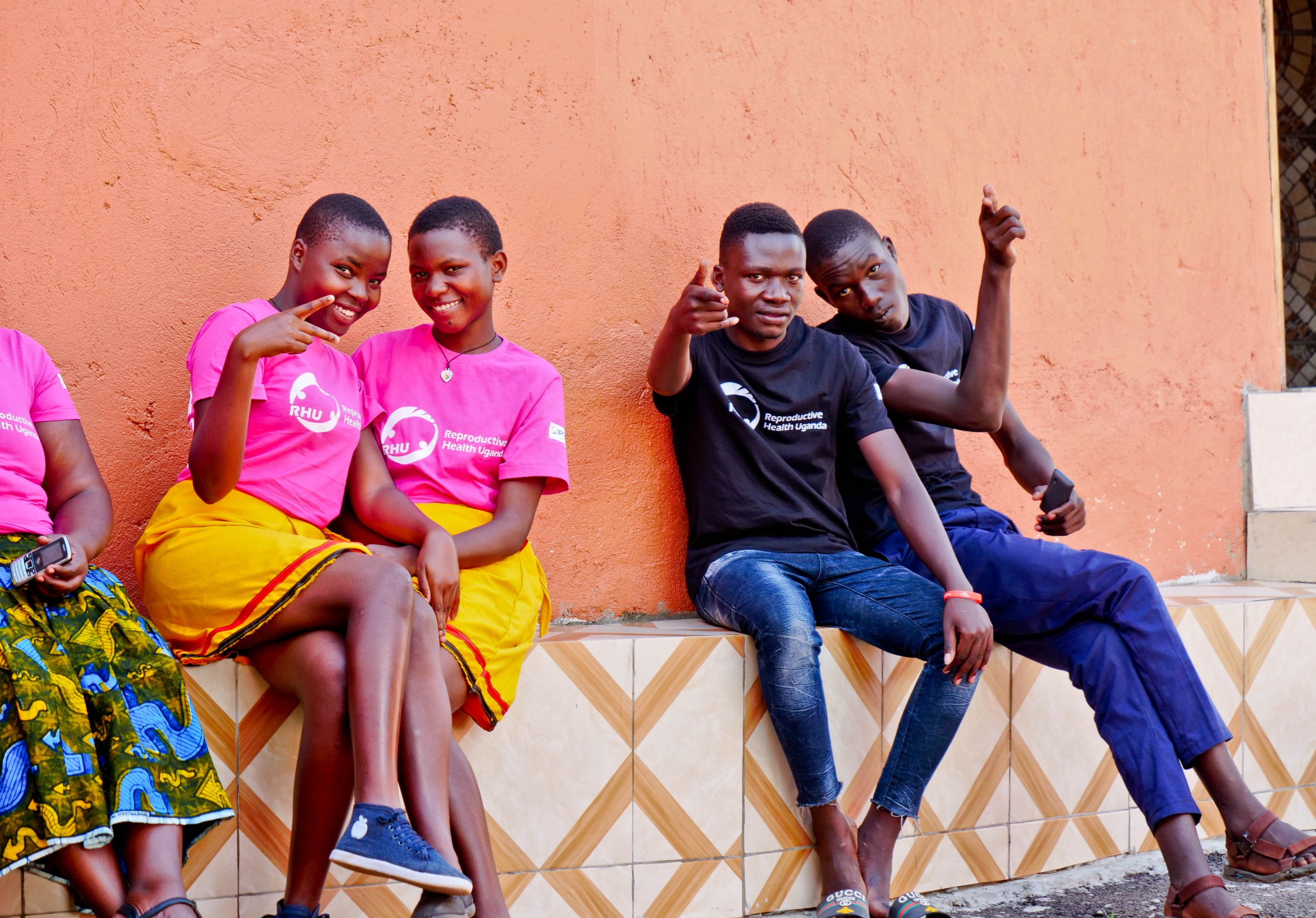Youth advocating for use of family planning methods