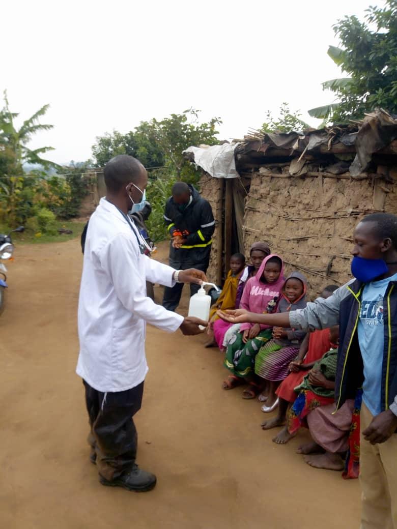 Batwa living in Mikingo village
