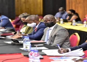 Opposition MPs at the seminar
