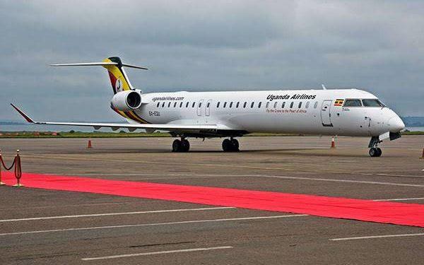Uganda Airlines plane