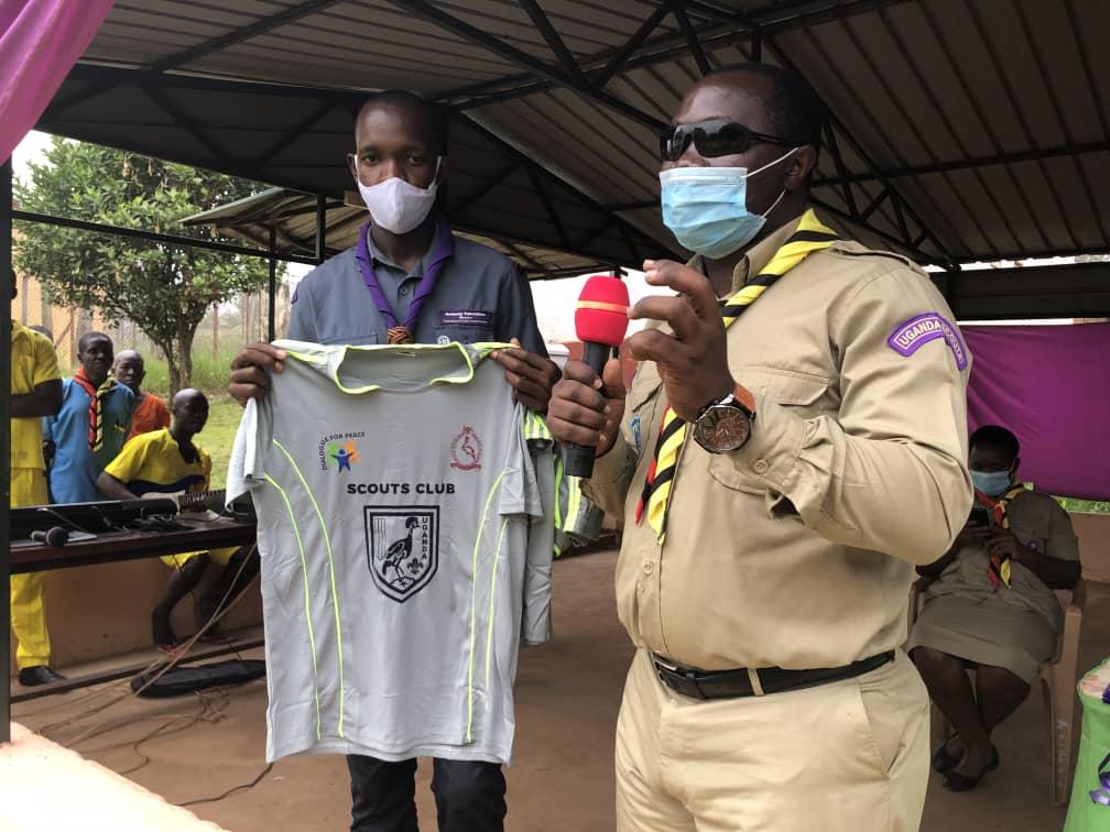 Pablo Bashir of Dream Team Uganda Scouts Association