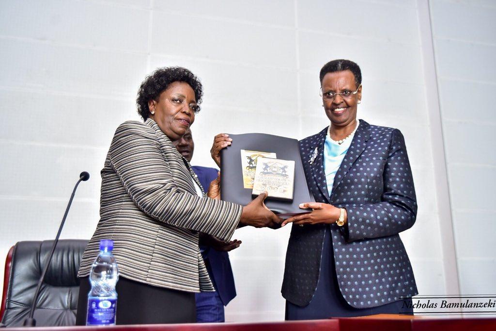 Minisita Janet Museveni nga akwasibwa ebyava mu bigezo bya 2019