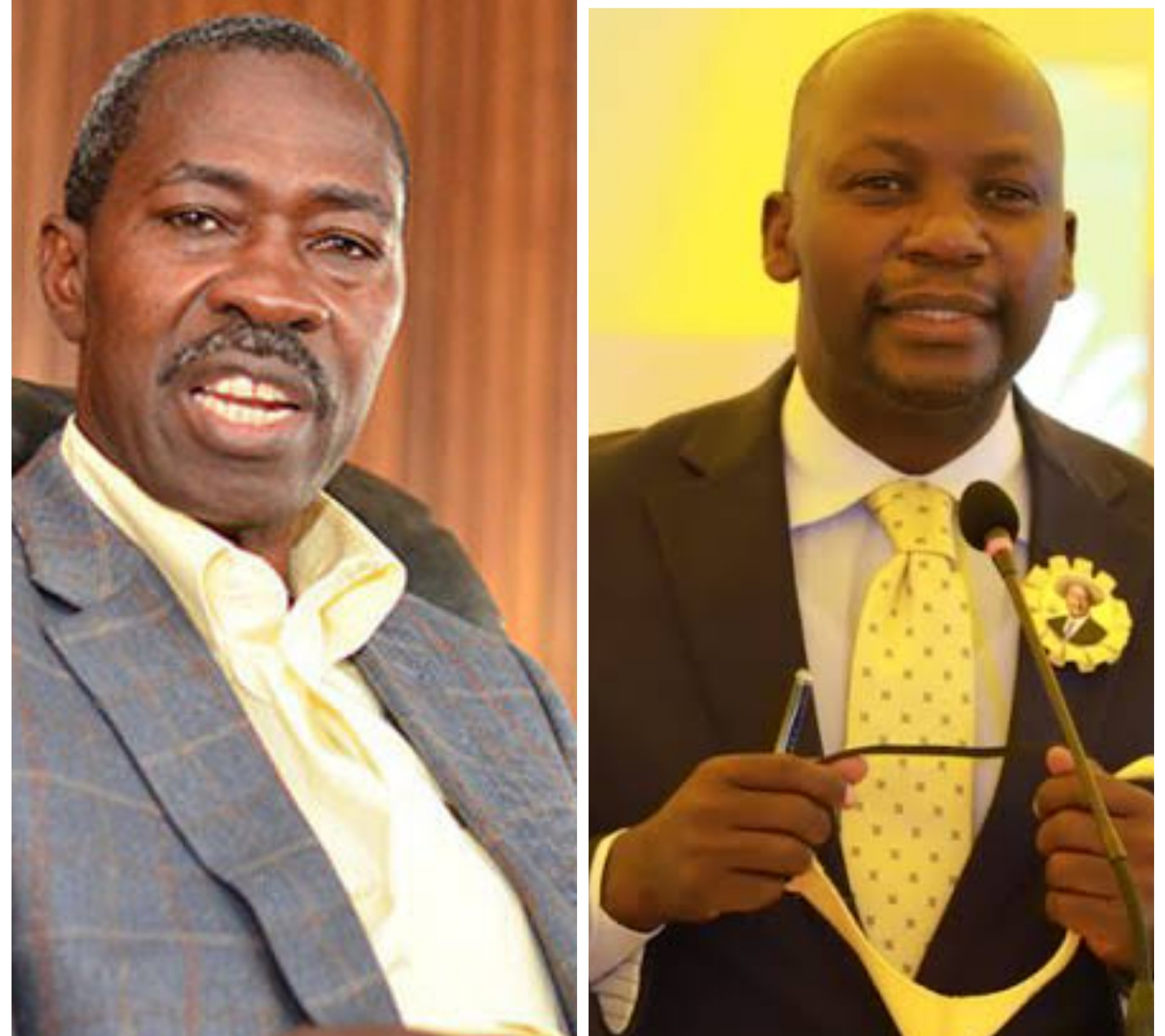 James Kakooza and Godfrey Kiwanda Suubi