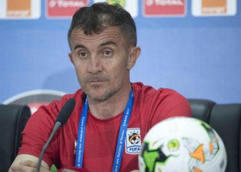 Uganda Cranes Head Coach Micho