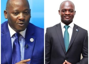 MPs Mathias Mpuuga and Ronald Kanyike