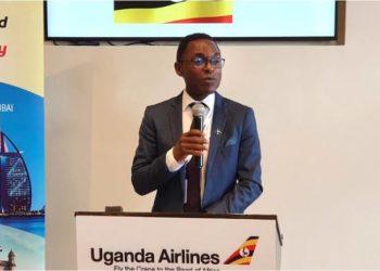 Fired Uganda Airlines CEO Cornwell Muleya