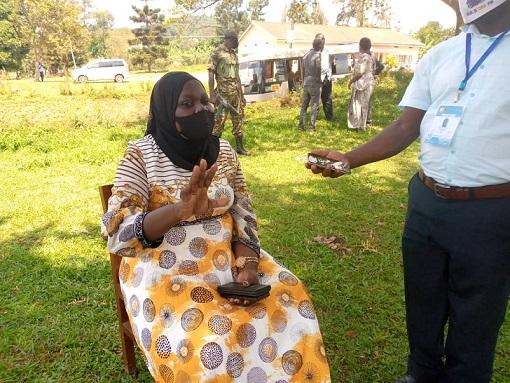 Omubaka wa Gavumenti e Mukono Hajjati Fatuma Ndisaba