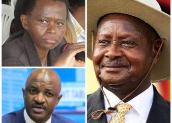 Lucy Nakyobe, Ramathan Ggoobi and President Museveni
