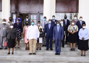 President Yoweri Museveni launches Presidential CEO Forum