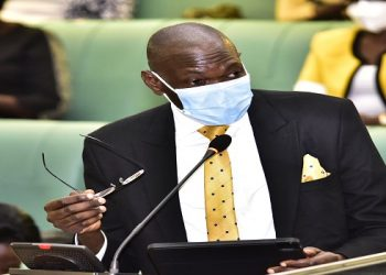 The Deputy Attorney General, Hon Jackson Kafuuzi presented the statement on the compensations