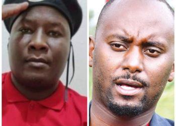 Fred Lumbuye and David Rubongoya