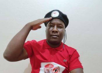 Blogger Fred Lumbuye