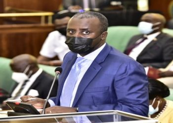 State Minister for Internal Affairs Gen David Muhoozi