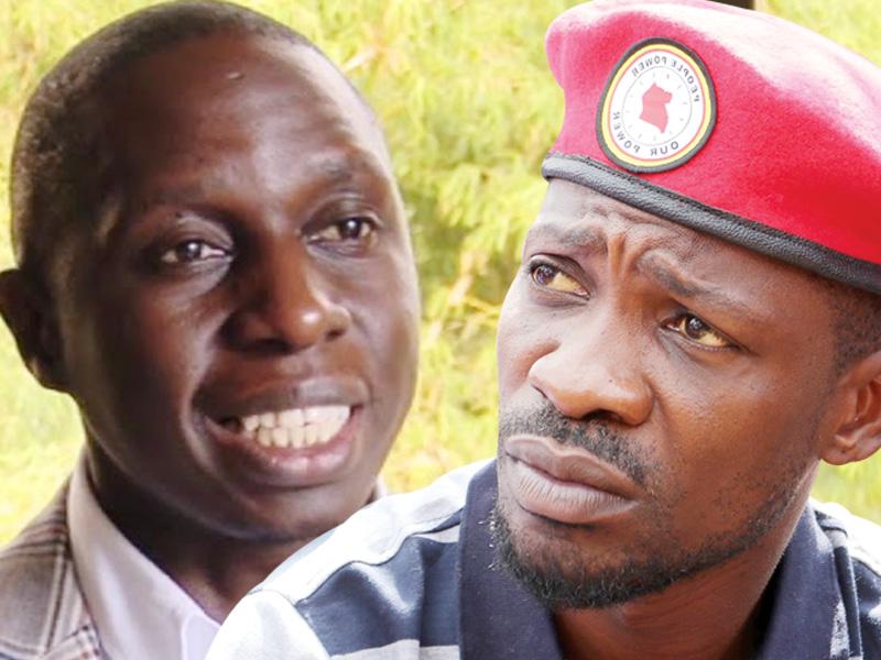 MP Nsereko and NUP leader Bobi Wine