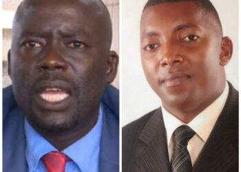 Odonga Otto and Joseph Ssewava