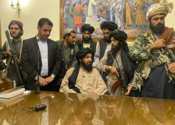 Taliban leaders after taking over Afghanistan