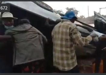 Eddy Kenzo involved in car accident on Masaka Road