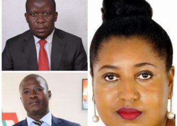Sadab Kitatta, Joseph Sabiti and Sarah Kagingo