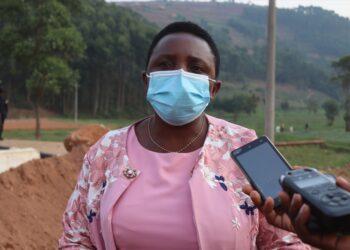 Burera District Mayor Marie Chantal Uwanyirigira