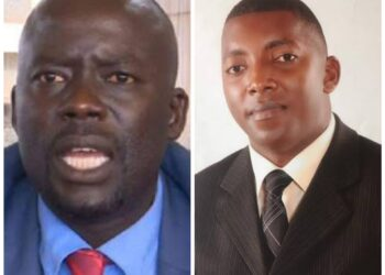 Odongo Otto and Joseph Ssewava