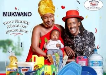 Anne Kansiime, lover Skylanta and their baby Ataho