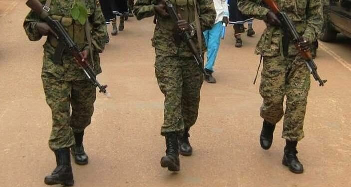 UPDF soldiers, courtesy photo