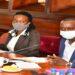 Hon Ayume(R) chairing the Committee