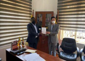 NRM SG Todwong meets new Chinese Ambassador to Uganda