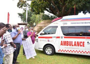 FMU receives ambulance from Victoria University