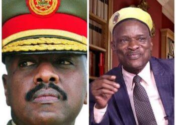 Lt Gen Muhoozi Kainerugaba and Tamale Mirundi