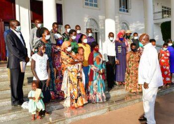 President Museveni met relatives of Masaka murder victims