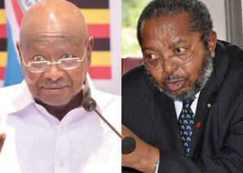 President Yoweri Museveni and BoU Governor Prof Emmanuel Mutebile