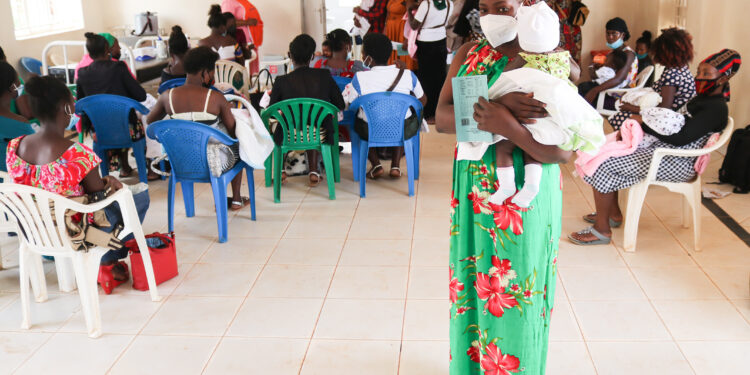 Nalutaaya Fatiya at Kitebi Health Centre III free SRHR Camp -web